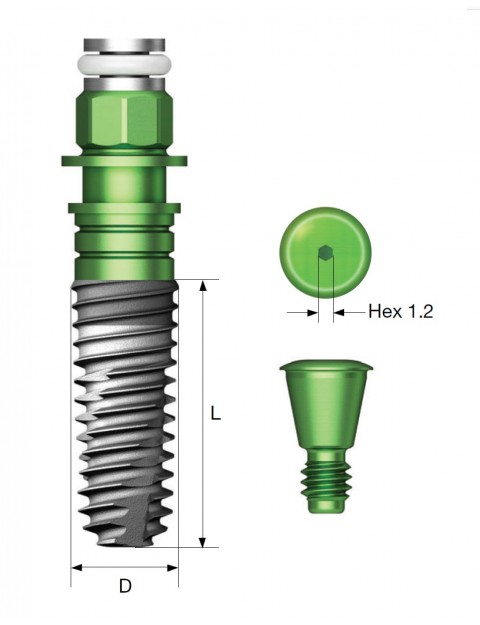 Импланти Osstem TS III HA имплантна система