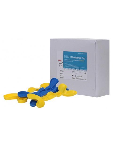 DENU Fluoride Gel Tray / Гумирани лъжици за нанасяне на флуориден гел