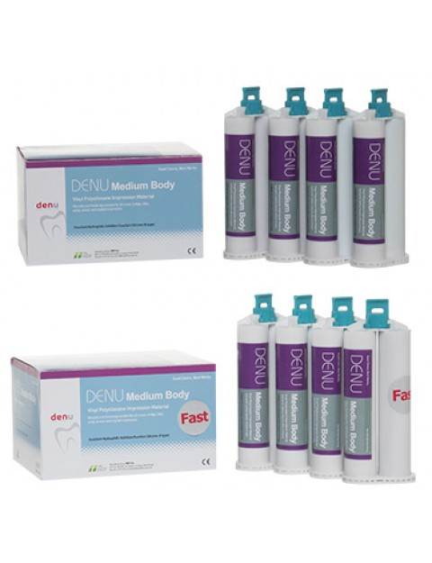 DENU Medium Body / Medium Body Fast отпечатъчен материал силикон тип А